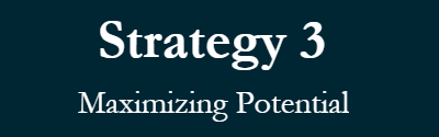 Strategy 3 Maximizing Potential