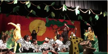 Lion King Dual Language Performance