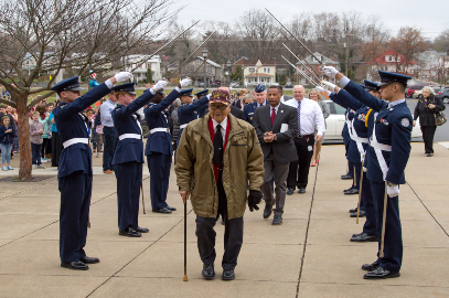 Tuskegee Airmen Visits GQES Students