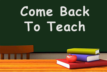 Come Back to Teach background