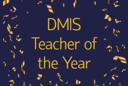 DMIS Teacher of the Year