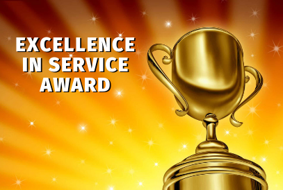 Excellence in Service background