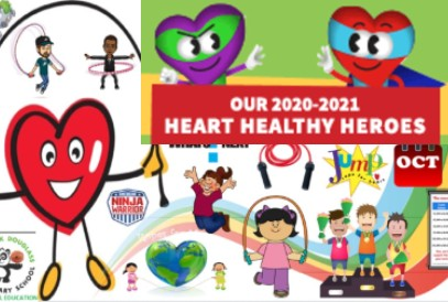Our 2020-2021 Heart Healthy Heroes