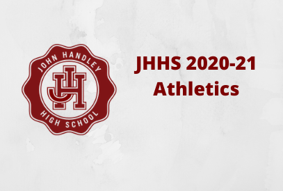 JHHS Seal logo with text JHHS 2020-21 Athletics