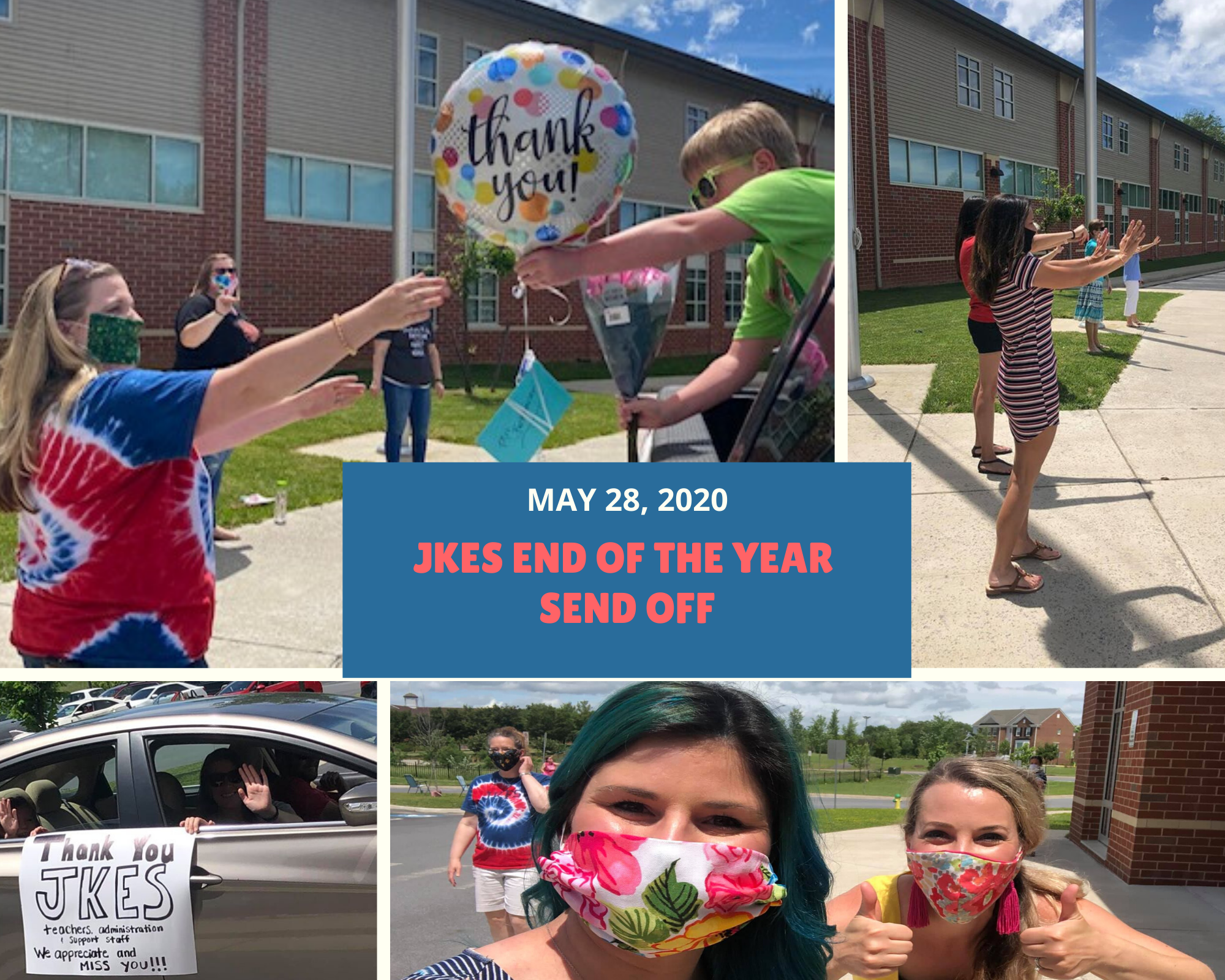 JKES End of the Year Send Off May 28, 2020