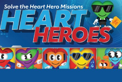 Solve the Heart Hero Missions Heart Heroes