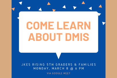 Rising 5th grade Information for JKES