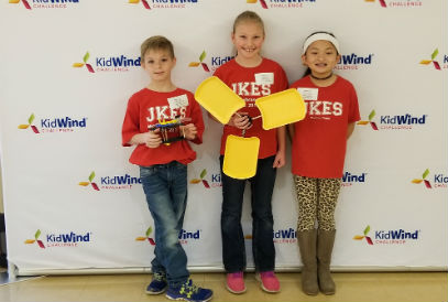 Students at the KidWind Challenge