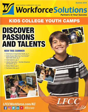 2019 LFCC Summer Camp catalog