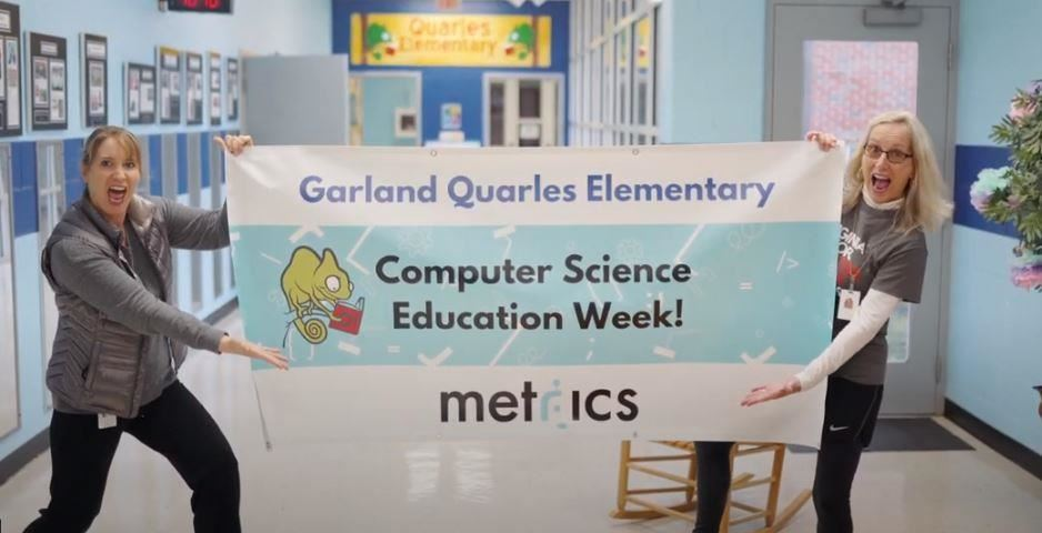 Garland Quarles Elementary Computer Science Education Week! Metrics
