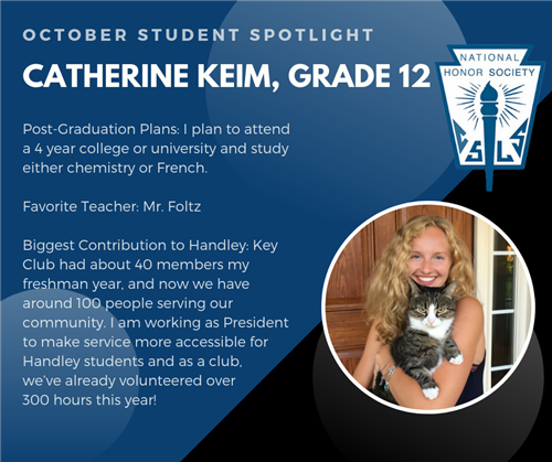 October Student Spotlight
