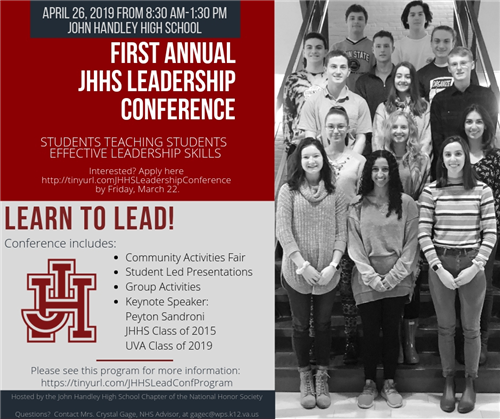 FIrst Annual JHHS Leadership Conference