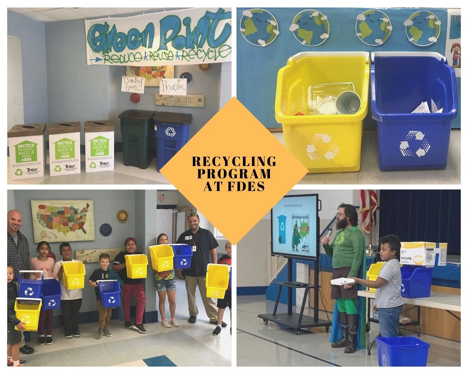 Green Point Recycling Program at FDES