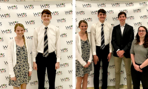 WPS School Board student representatives