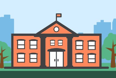school building clipart