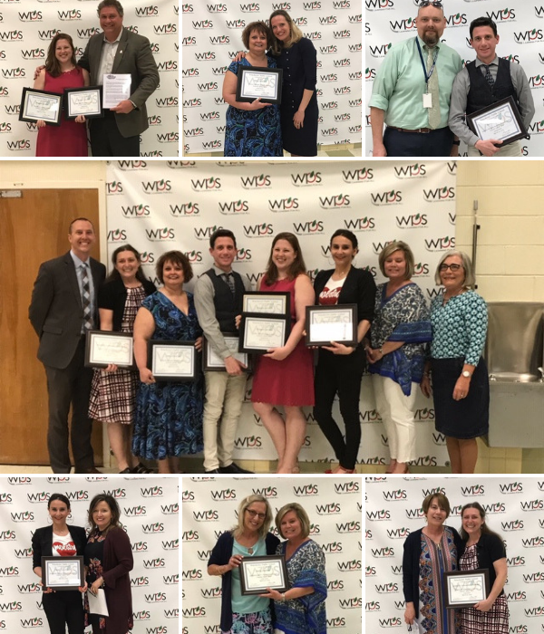 WPS 2019 Teachers of the Year