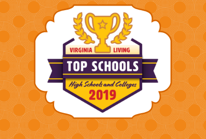 VA Top School background
