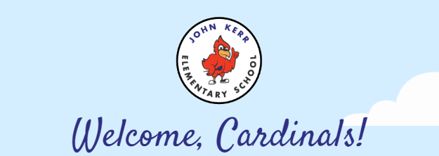 Welcome Cardinals! JKES logo