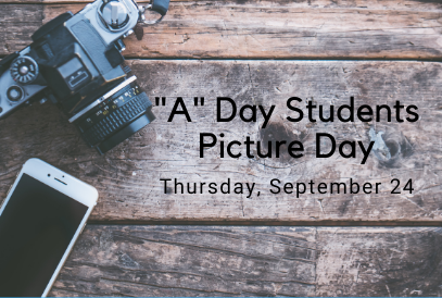 """A"" Day students picture day at GQES"