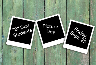 """B"" Day students picture day at GQES"