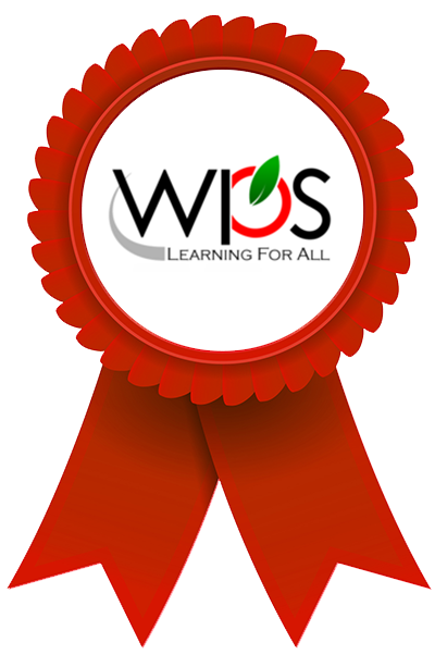 WPS award ribbon