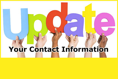 Update your contact information background