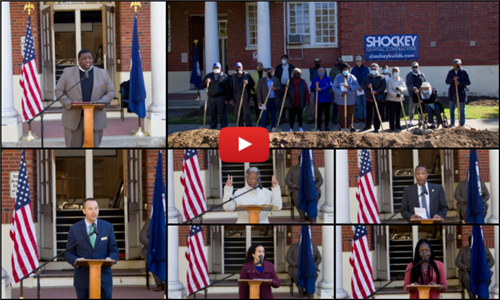 Watch the groundbreaking ceremony on YouTube