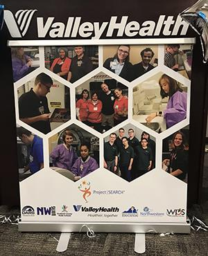 Valley Health Project SEARCH sign