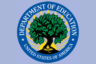 USDOE seal background