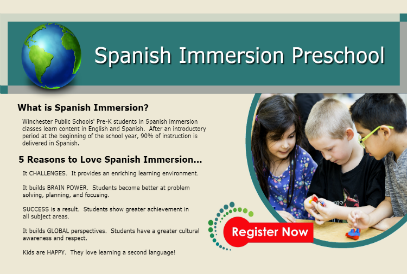 Tuition-based Spanish Immersion Preschool