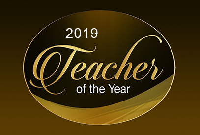 Teacher of the Year background