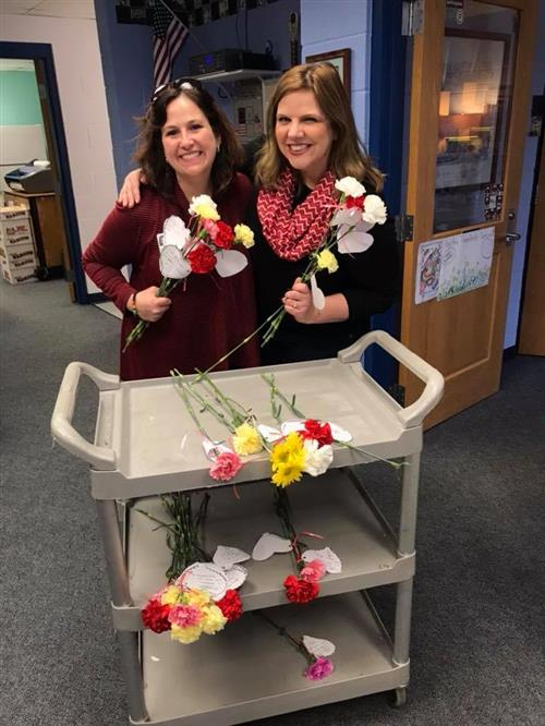 PTO Valentine's Day Flower Sale