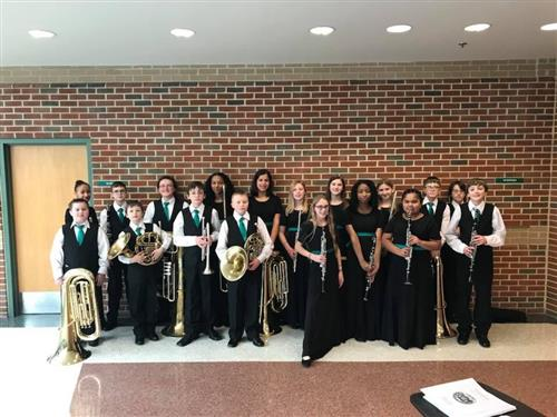 District Band participants 2018