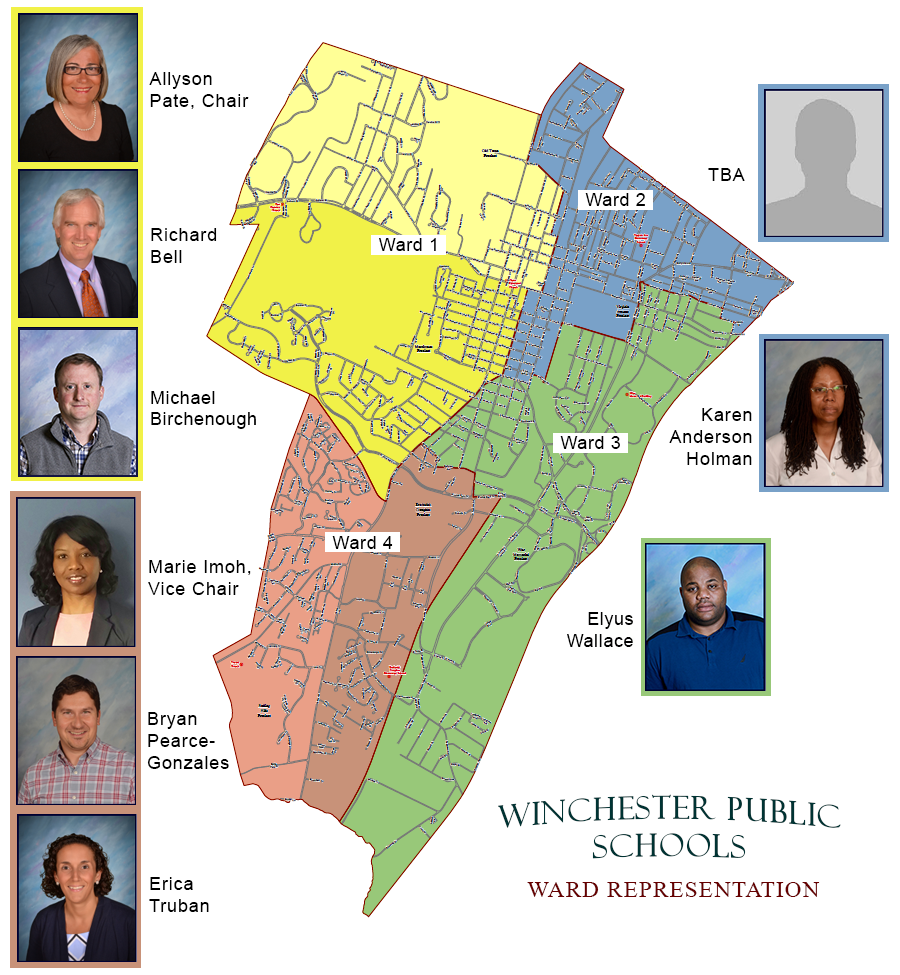 School Board Representation by Ward